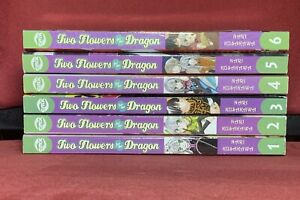 Two Flowers for the Dragon, Vols. 1 2 3 4 5 6, Shojo English Manga Set CMX