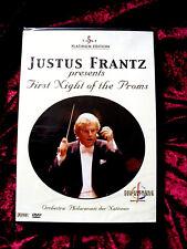 "JUSTUS FRANTZ ""First Night of the Proms"" DVD,NEU/OVP"