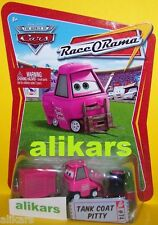 TANK COAT PITTY -#74 Race O Rama Collection ROR series Disney Pixar Mattel Cars