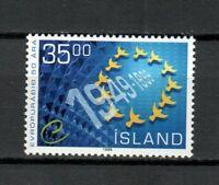 S33947 Island Iceland Iceland MNH 1999 European Council 1v