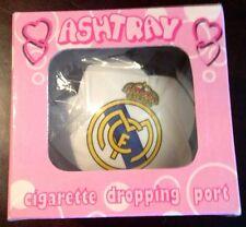 Real Madrid ashtray La Liga Football Soccer * Rare * Ronaldo