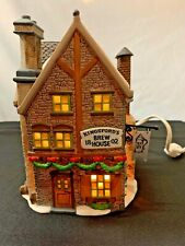 "Dept 56 Dickens' Village Lighted ""Kingsford's Brew House"" Retired #5811-4 W/Box"