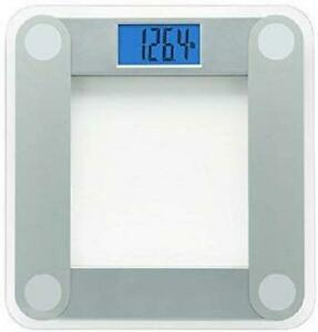 EatSmart Precision Digital Bathroom Scale with Extra Large Lighted Display, Free