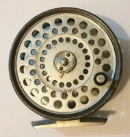 A FINE HARDY PRINCESS TROUT FLY REEL PERFECT WORKING ORDER IN HARDY POUCH