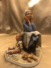 The Saturday Evening Post Figurine Norman Rockwell 1981