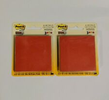 """2X Post-It Notes, 3"""" x 3"""", 3 Pads, 45 Sheets/Pad, Total 270 Sheets, Super Sticky"""