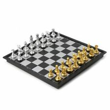 Portable Chess Folding Magnetic Plastic Chessboard Board Game For Kids And Adult