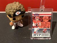 2019 Panini Contenders Patrick Mahomes II MVP Contender #MVP-PM KC Chiefs MVP!
