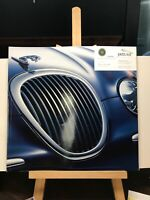 Genuine ~ The Jaguar S-Type 2000 Sales Brochure Catalog with Colors Paint
