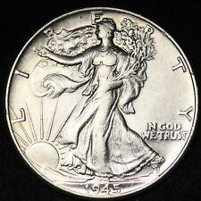 1945 Walking Liberty Half Dollar CHOICE FREE SHIPPING E393 ACT