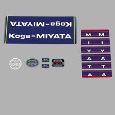 Koga Miyata Bicycle Decals, Transfers, Stickers n.100