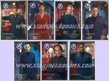 COMPLETE Star Trek: Enterprise GERMAN POSTCARDS Set of SEVEN Rare MINT 2006!