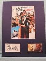 """Roger Moore as James Bond in """"Octopussy"""" signed by Steven Berkoff as Gen. Orlov"""