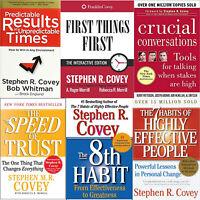 Stephen R Covey - The 7 Habits + 8th Habit + Purpose + 13+ Kit [P.D.F]