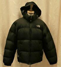 North Face Down Filled 700 Jacket - Medium Black / Green - M