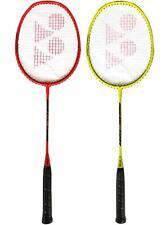 Yonex ZR 100 Aluminum Blend Strung Badminton Racquet (Orange Yellow ) Pack of 2