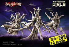 Raging Heroes Void Elves Heroines Box #2 - Female Dark Elves