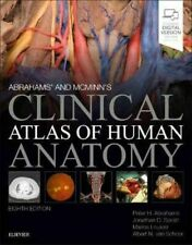 Mcminn And Abrahams' Clinical Atlas Of Human Anatomy, 8th Edition by Peter H. Abrahams (2019, Paperback)