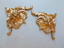 DECORATIVE ORNATE FRENCH STYLE CORNER MOULDINGS DIFFERENT COLOURS AVAILIBLE