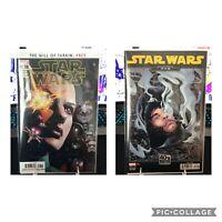 STAR WARS #8 COVER A & B 1ST PRINT MARVEL COMICS 2020 SOULE