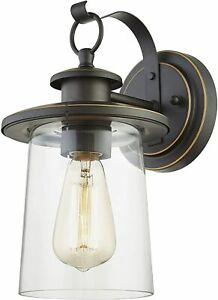 Wisbeam Outdoor Wall Lamp Oil Rubbed Bronze WS-WL006 1 Pack