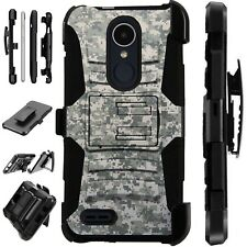 For Apple / LG Phone Case Holster Kick Stand Cover DIGITAL CAMO ACU Lux Guard