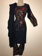 Womens Pakistani Shalwar Kameez Stitched Readymade Designer Party Wear Suit 3pc.