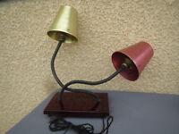Antica lampada articolato atelier architetto o ufficio Vintage industriale