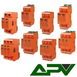 Überspannungsschutz Photovoltaik PV 1000VDC Blitzschutz  2,3-polig  T2,T1+T2 B+C