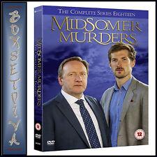 MIDSOMER MURDERS - COMPLETE SERIES 18 *BRAND NEW DVD***