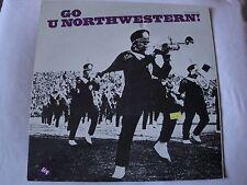 GO U NORTHWESTERN! WILDCAT MARCHING BAND VINYL LP FIDELITY SOUND RECORDINGS EX