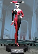 DC COMICS FACTORY NEW! HARLEY QUINN STATUE MAQUETTE From BATMAN Animated Bust