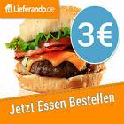 TOP Lieferando Gutschein 3 Euro [SOFORTVERSAND] <br/> 👍 Sofortversand 👍 24/7 👍 100% Zufriedenheit