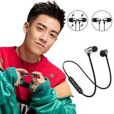Sale Bluetooth 4.2 Earphone Wireless Magnetic In-Ear Earbuds Headphone au