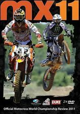 MX 11 MOTOCROSS WORLD CHAMPIONSHIP DVD 2011. 2 DISCS. 480 Mins. DUKE 2336N