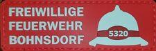 Ärmelabzeichen Patch Aufnäher Berliner Feuerwehr FF Bohnsdorf
