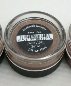 bare Minerals * FAUX FOX * Eyeshadow Eyecolor Full Size $15 ~ Brand New & Sealed