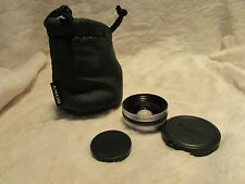 Sony VCLDH0730 Wide Angle Lens 30MM - VGC (VCL-DH0730)