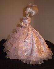 "Sankyo Japan Glamorous 60's Doll w/Large Dress Music and Turns13.5"" Overall Long"