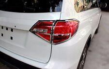 ABS Chrome Rear Tail Light Lamp Cover Trim for Suzuki Vitara Escudo 2015 2016