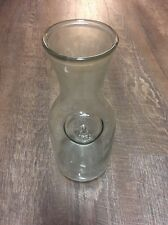 Dairy glass milk jug since 1852 container great flower vase  beer growler