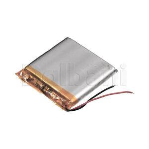 655050, Internal Lithium Polymer Battery 3.7V 2000mAh 50x50x7mm