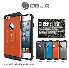 Genuine Obliq Xtreme Pro Bumper Shock Scratch  iPhone 6 4.7 Case Cover Orange