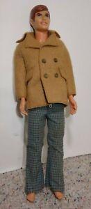 Vintage 1968 Mattel Talking Ken Doll with Click Knees Hong Kong