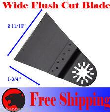 Wide Flush Cut Oscillating MultiTool Saw Blade For Bosch Milwaukee Ridgid Ryobi