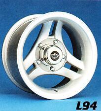 """15x10"""" Moab Split 3 Silver Finish Jeep CJ-Ford F150/Bronco 5-5.5 Aluminum Wheels"""
