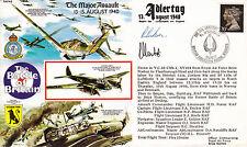 RAFA 6 RAF Battle of Britain cover signed LUDWIK MARTEL Polish pilot 54 Squadron
