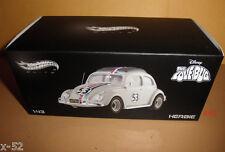 Disney HOT WHEELS ELITE 1:43 HERBIE the LOVEBUG toy DIECAST car VOLKSWAGEN