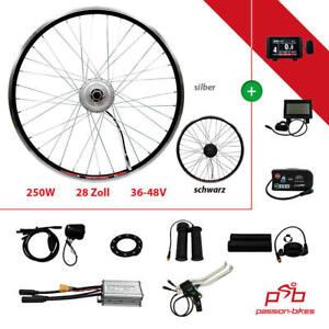"E-Bike / Pedelec Vorderrad Umbausatz Kit 250W Watt Front Motor 28"" Wasserfest"