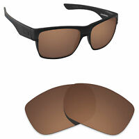 Hawkry Polarized Replacement Lenses for-Oakley TwoFace Sunglass Bronze Brown